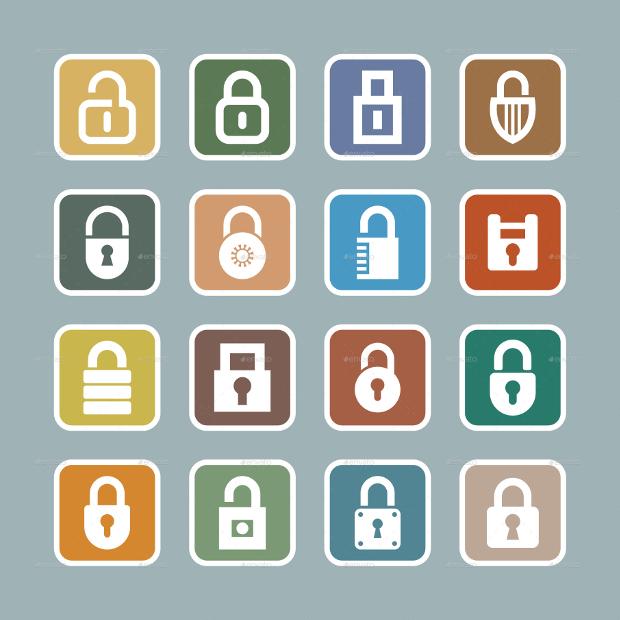 Lock Vector Icons