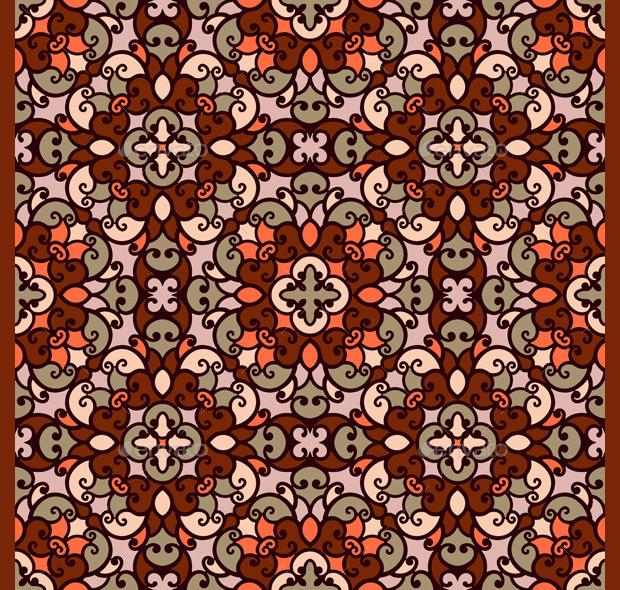 elegant mosaic pattern design