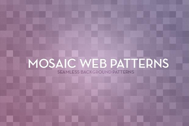 mosaic web pattern