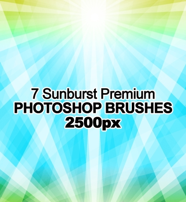 sunburst photoshop brushes