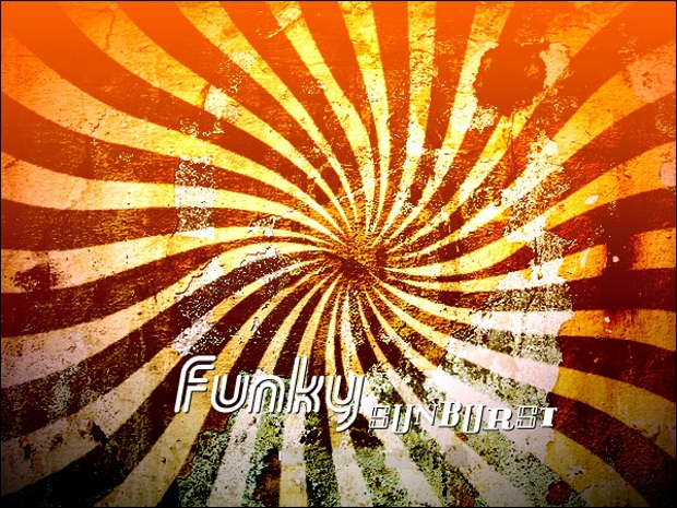 funky sunburst brush