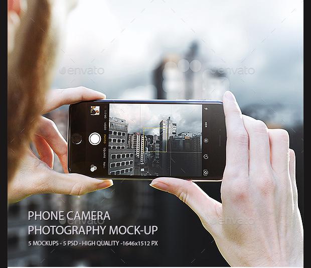 Phone Camera Photography Mockup