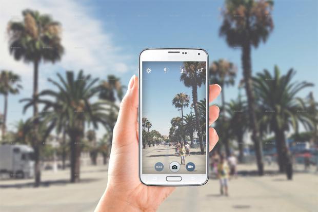 Smartphone Photography Mockup
