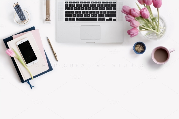 Photography Desktop Mockup