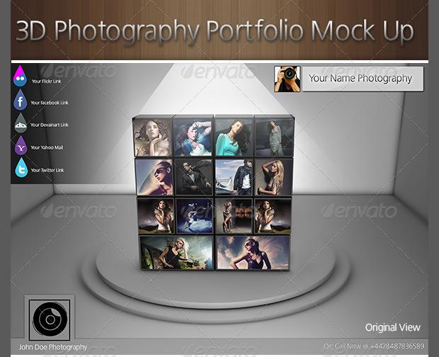 Photography Portfolio Mockup