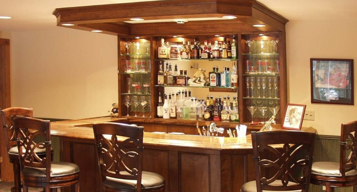 Bar Ideas For Small Living Room: 18+ Small Home Bar Designs, Ideas