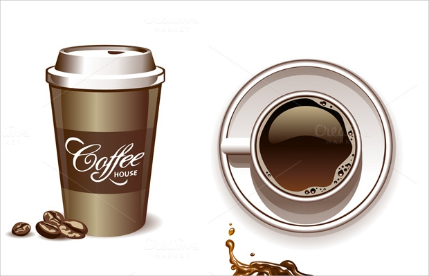coffee cups vector