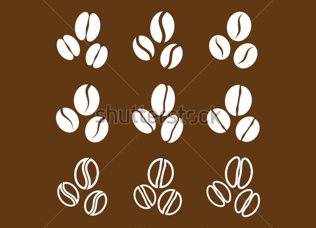 vector coffee beans