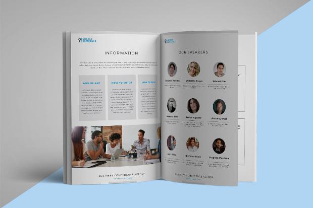 Conference Agenda Brochure