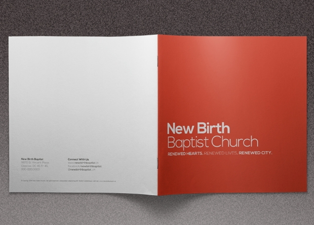 Church Conference Brochure