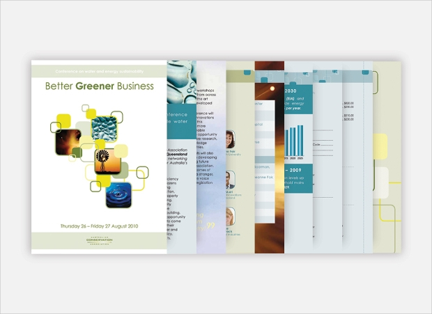 Greener Business Conference Brochure
