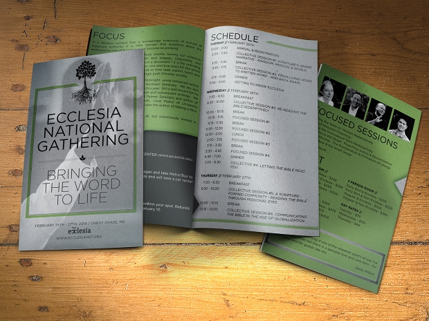 Conference Event Brochure