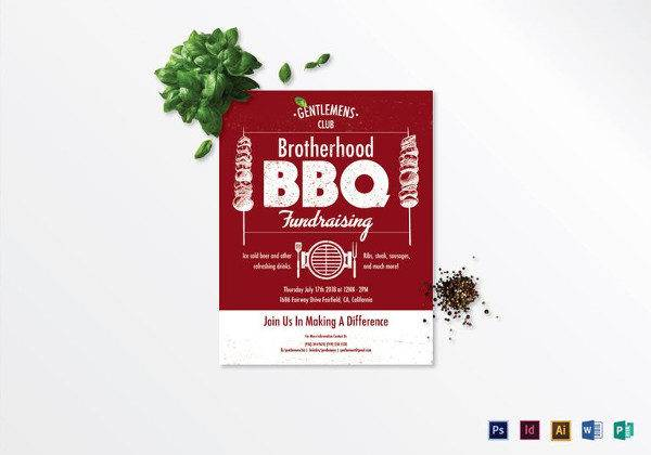 Fundraising Flyer Templates Printable PSD AI Vector EPS - Fundraising brochure template