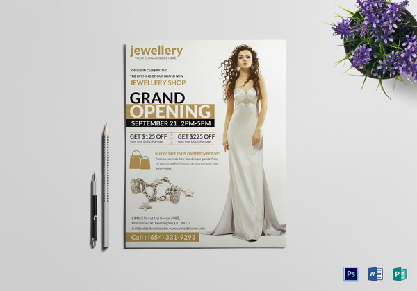 20+ Jewelry Flyer Templates - Printable PSD, AI, Vector ...