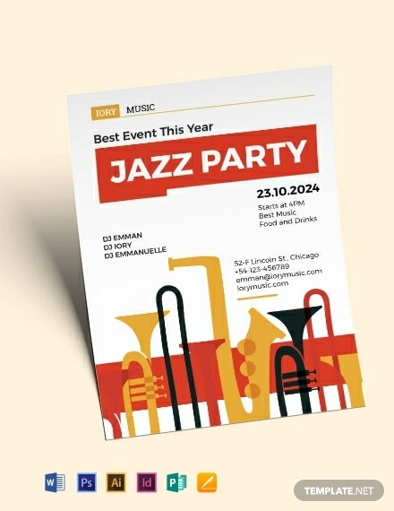Design Trends Premium Psd Vector Downloads: 24+ Band Flyer Templates - Apple Pages, Ms Word, Publisher
