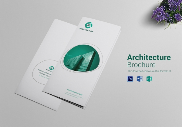 commercial architecture brochure