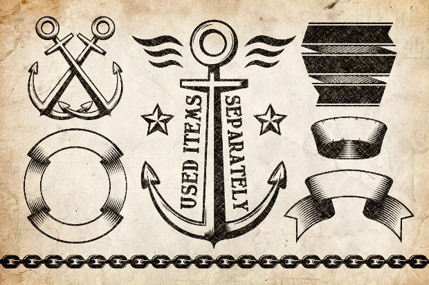Marine Anchor Logo Design