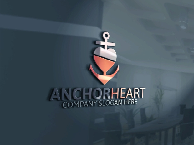 Anchor Heart Logo