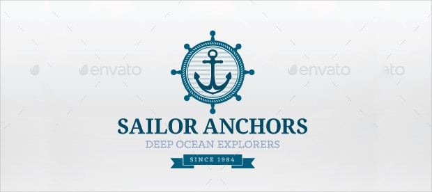 Sailor Anchor Logo Design