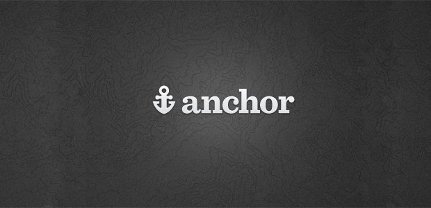Simple Anchor Logo Design