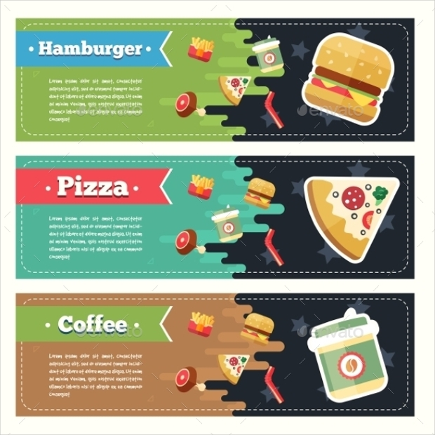 Food Vector Banners