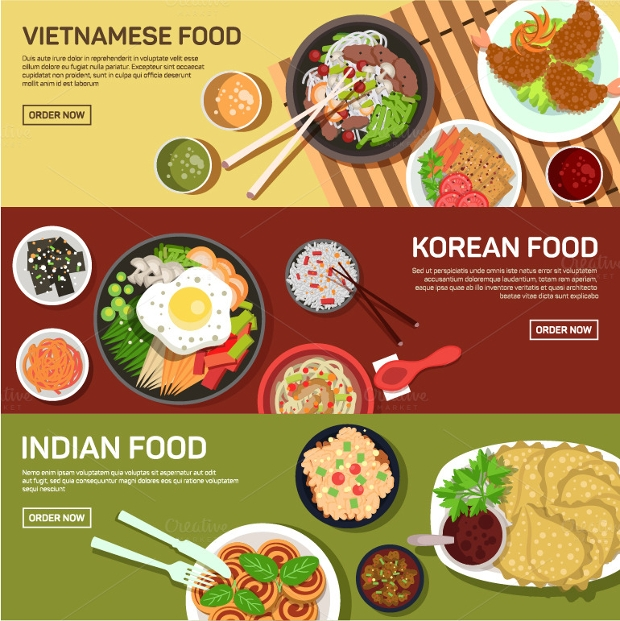 Street Food Web Banner