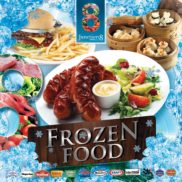 Frozen Food Festival Banner