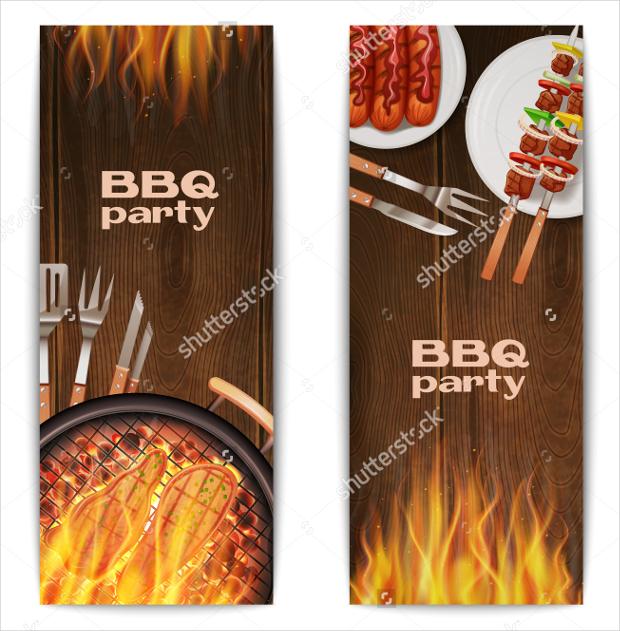 bbq food banner