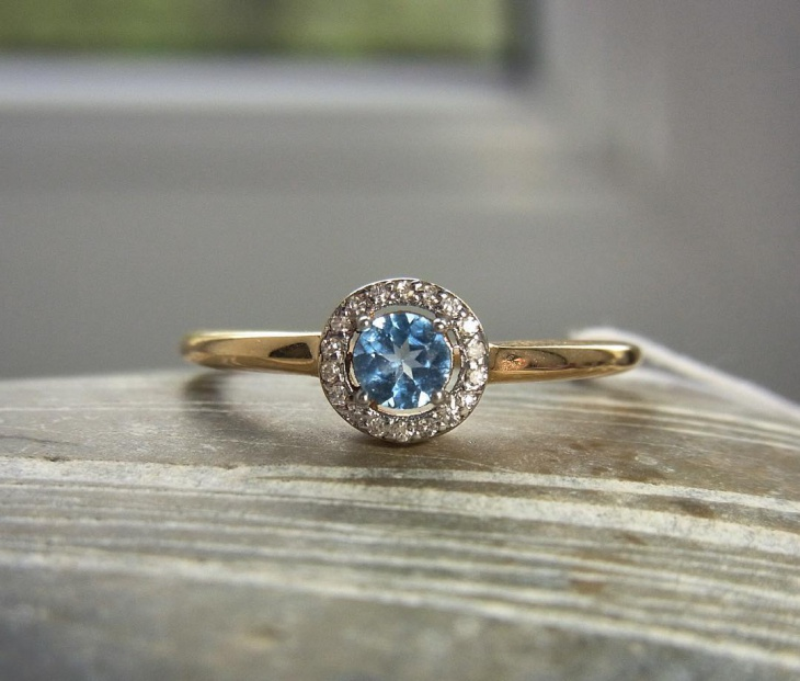 Blue Topaz Rings Idea