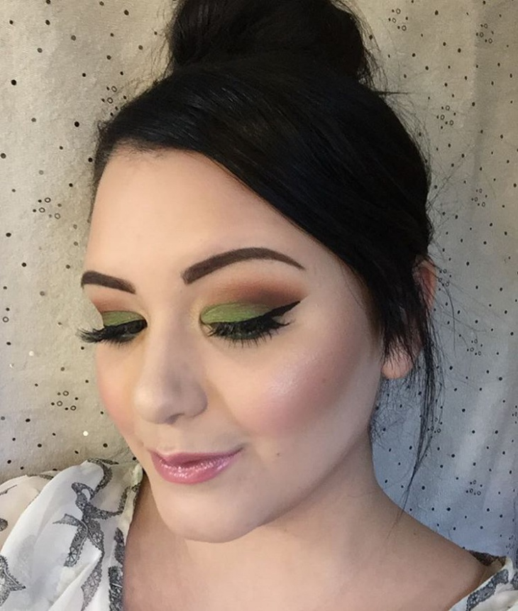 Cool Tinkerbell Eye Shadow
