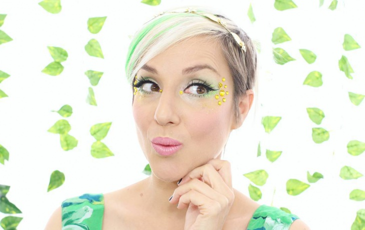 Tinkerbell Cosplay Makeup