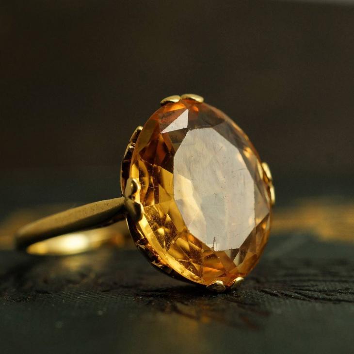 Imperial Topaz Rings