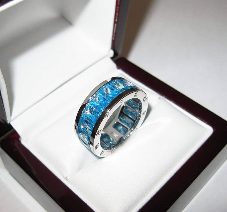 Topaz Band Ring Design