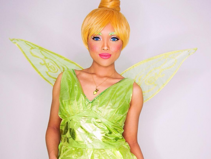 Tinkerbell Fairy Makeup Idea