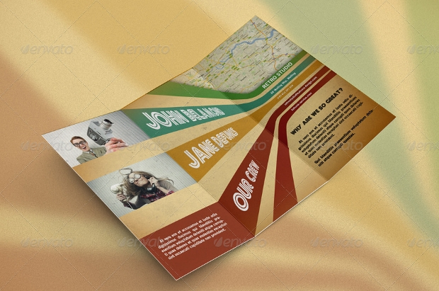 Retro Brochure Design