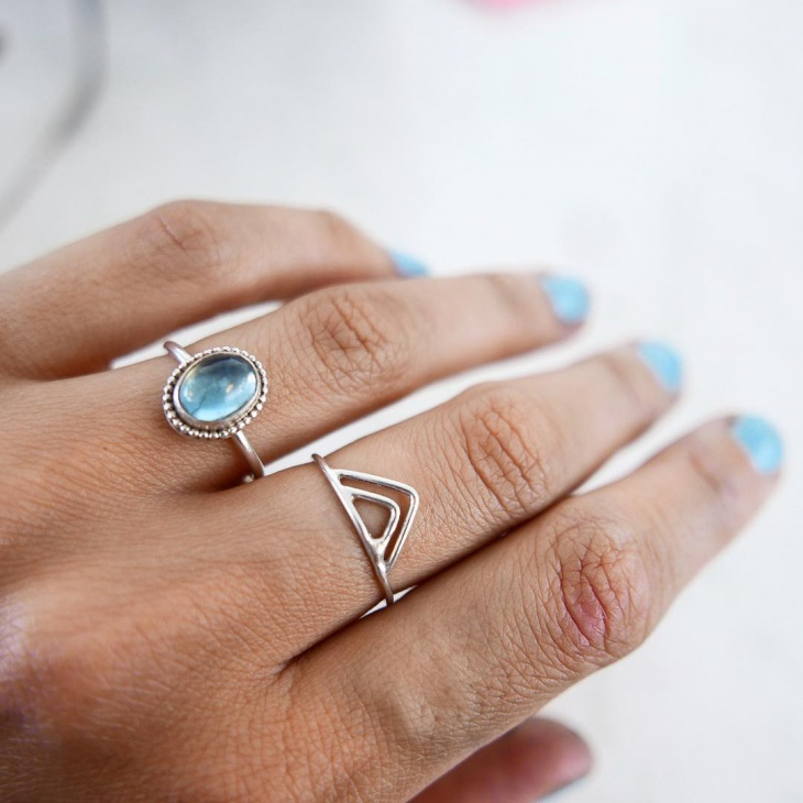 Simple Topaz Ring Idea