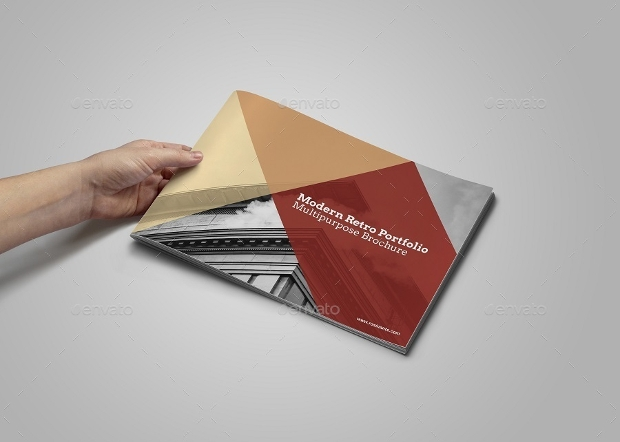 Modern Retro Brochure Design