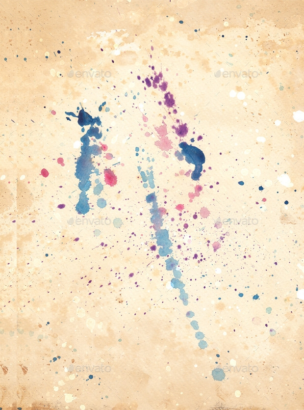 high resolution watercolor splatter texture