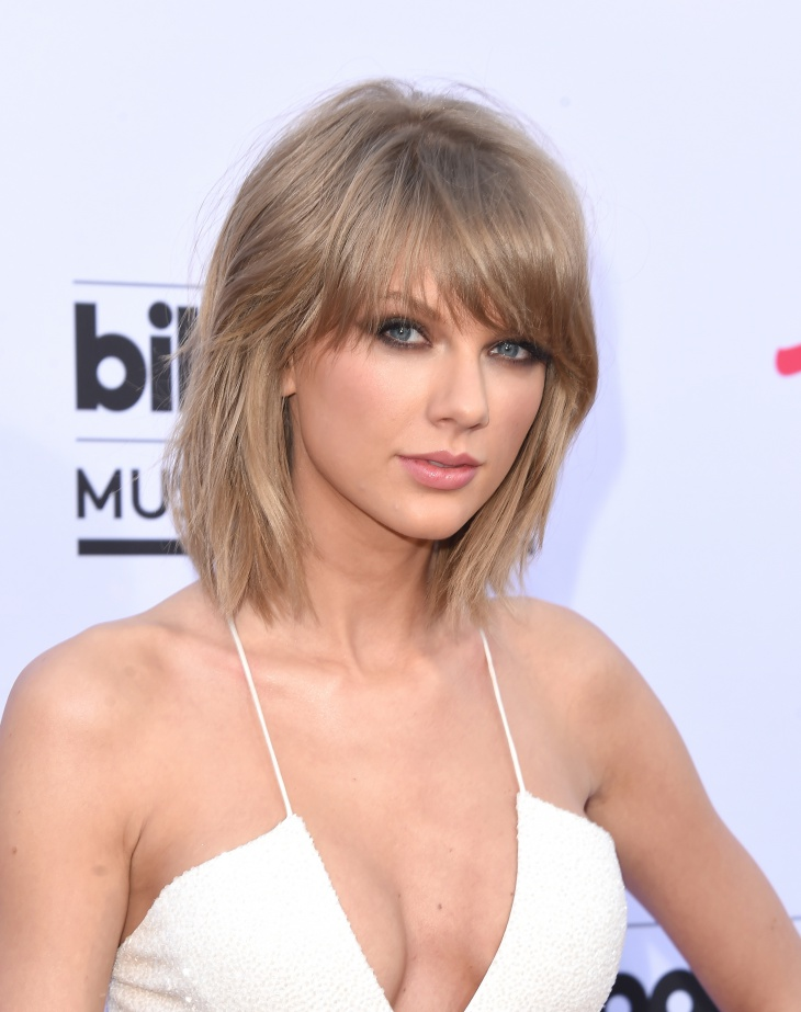 Taylor Swift Modern Pageboy Haircut
