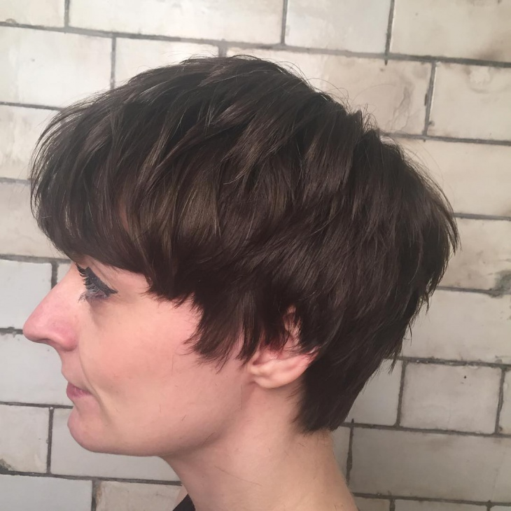 Textured Pageboy Bob Haircut