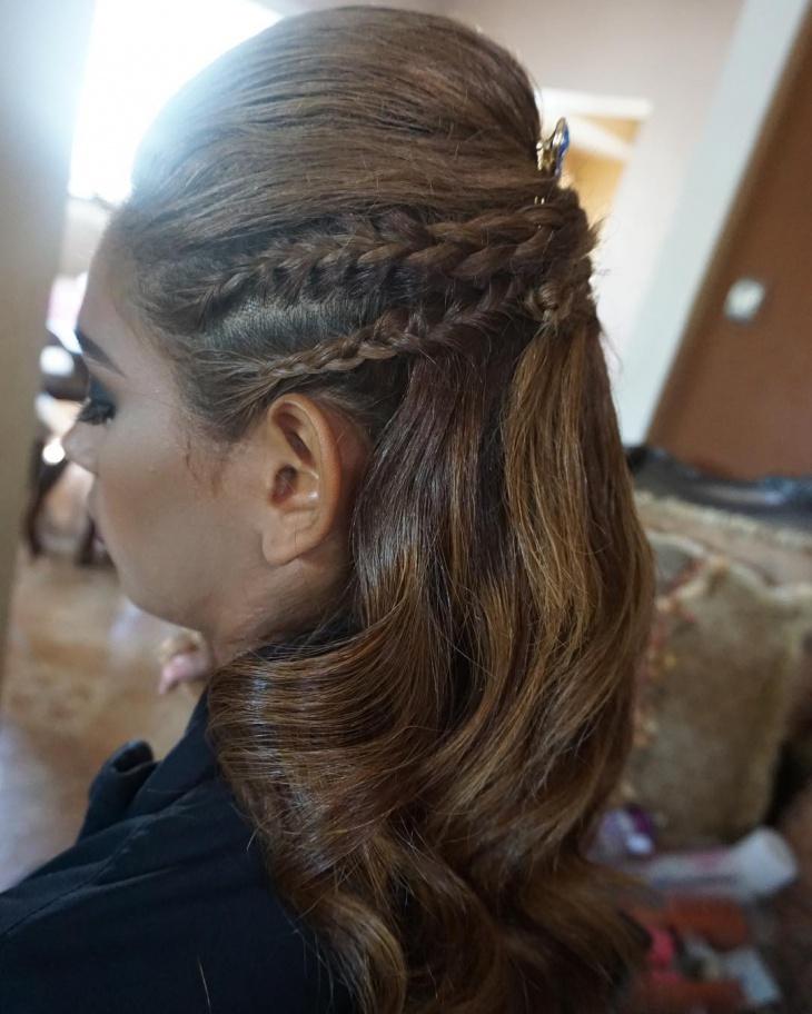 Modern Long Teased Hair