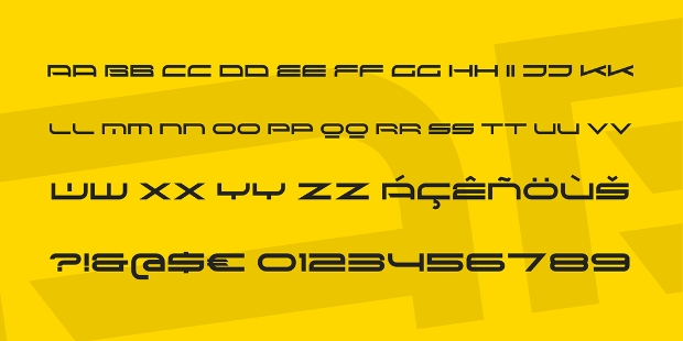 Sci Font Regular Font
