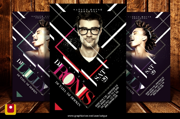 27 + Dj Flyer Templates and Designs - Word, PSD, AI, EPS