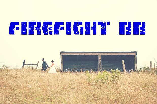 FireFight BB Sci Fi Font
