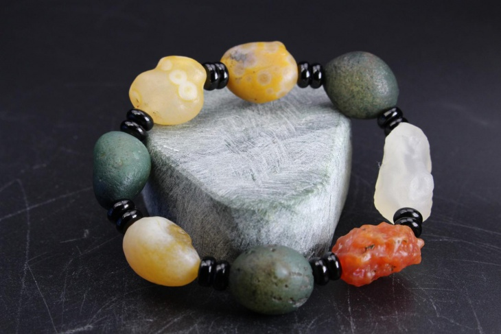 small natural rock jewelry