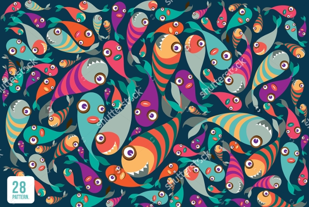 Tropical Fish Pattern Designs