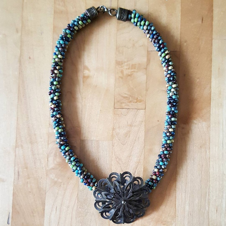 perfect beaded necklace design