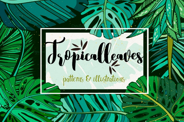 20  tropical patterns - free psd  png  vector eps format download
