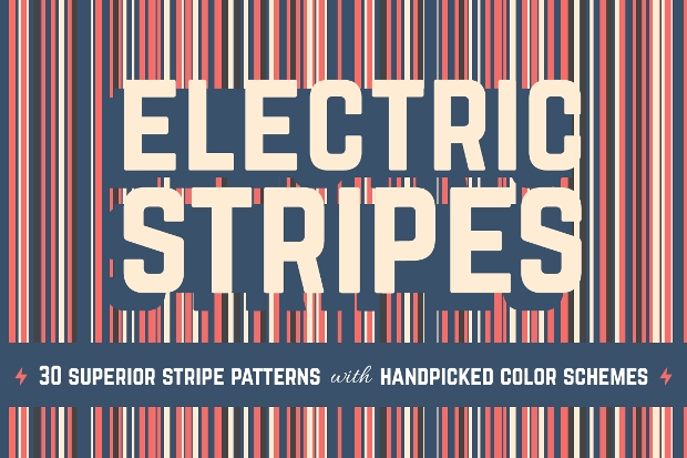 Electric Stripes Pattern Design