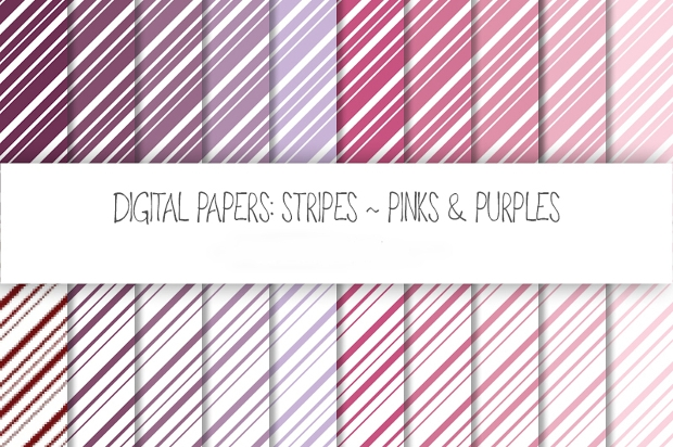 Diagonal Stripe PSD Pattern